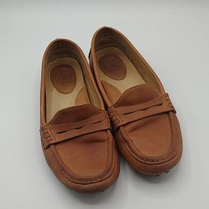 FRYE Rebecca Penny Driving Loafer leather size 7